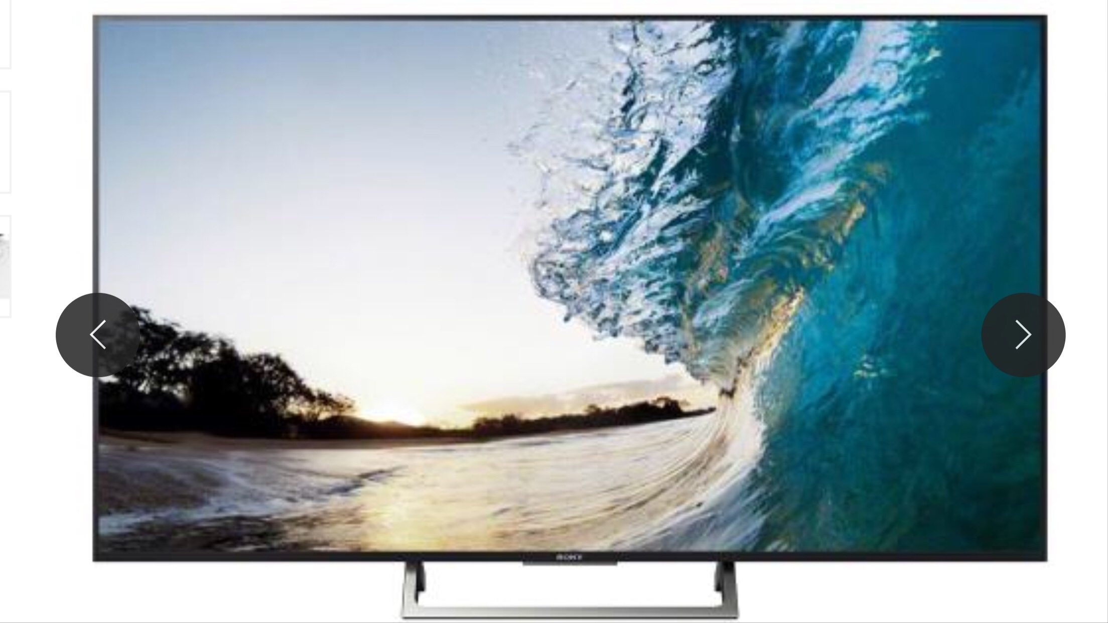TV SONY 4K UHD